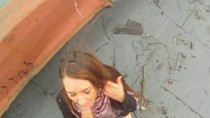 Sex on the roof with Marina